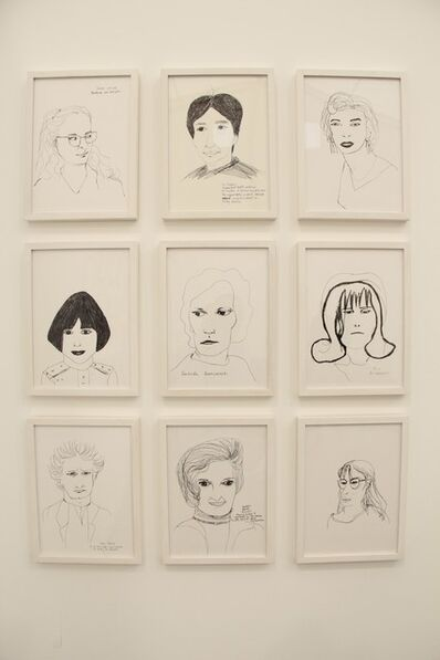 Carolina Caycedo, 'Criminal Women - Killers', 2001-2014