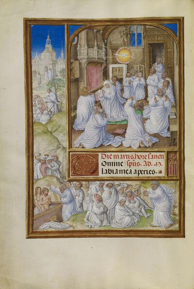 Master of James IV of Scotland, 'Pentecost', 1510-1520