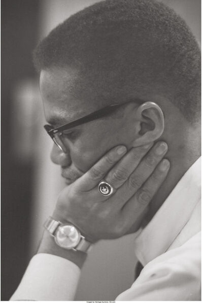 Roy Schatt, 'Malcolm X (four works)', 1964