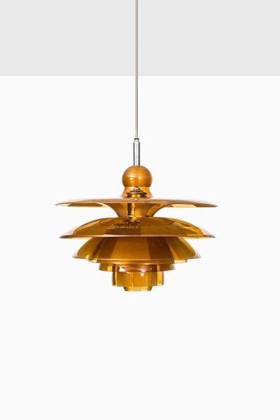 Poul Henningsen for Louis Poulsen, 'Ceiling lamp model PH-Septima 5', vers 1930