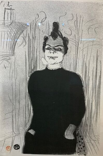 Henri de Toulouse-Lautrec, 'A La Gaite Rochechouart: Nicolle', 1893