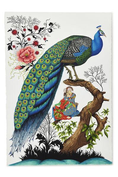Heather Ujiie, 'Embrace & Peacock', 2021