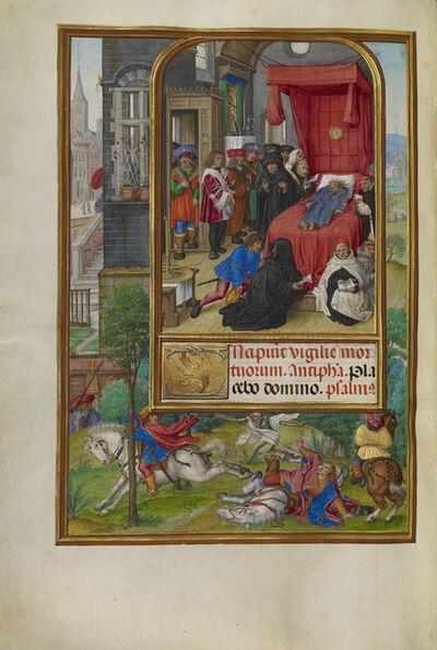 Master of James IV of Scotland, 'Deathbed Scene', 1510-1520