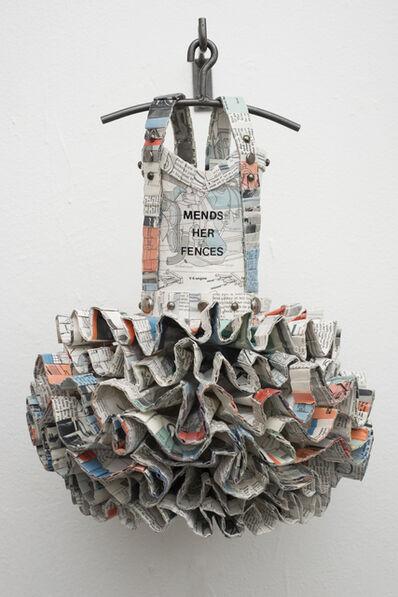 Donna Rosenthal, 'Dress Quilt: Mends Her Fences', 2013