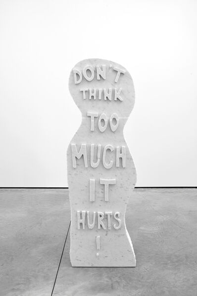 Olaf Breuning, 'Untitled. Don't Think Too Much It Hurts', 2013
