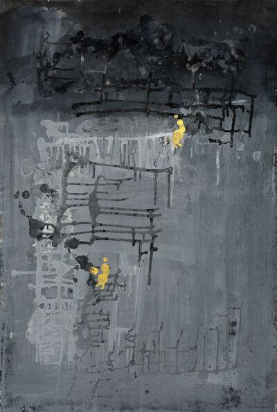Yi Kai, 'Golden Human with Gray World #1 灰色世界里的小金人#1', 2015