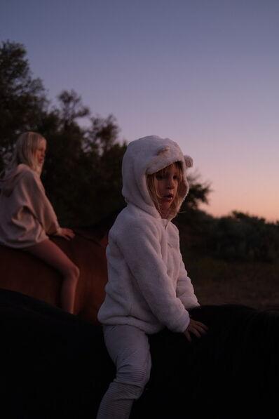 Joana Fischer, 'Wild horse encounter II', 2020