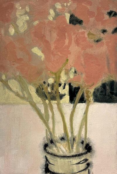 David Konigsberg, 'Vase of Pinks', 2021