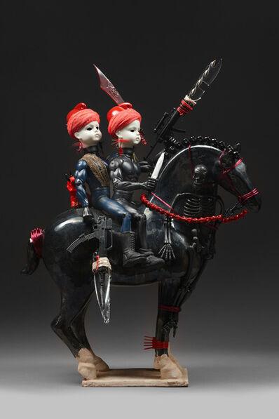 Penny Byrne, 'Devils on Horseback', 2014