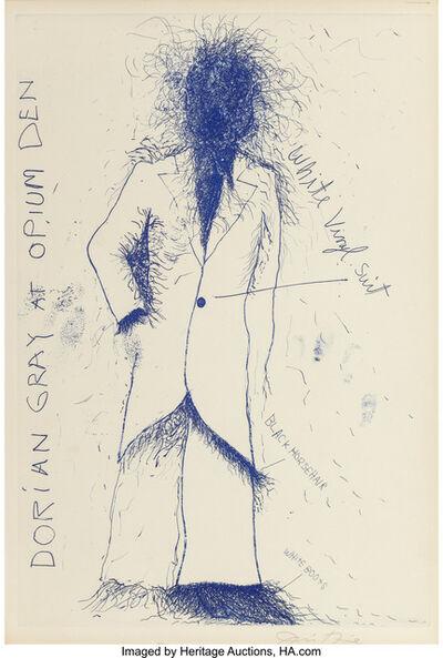 Jim Dine, 'Dorian Gray at Opium Den', 1968