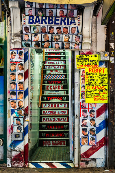 David Stock, 'Barberia, Jackson Heights', 2016