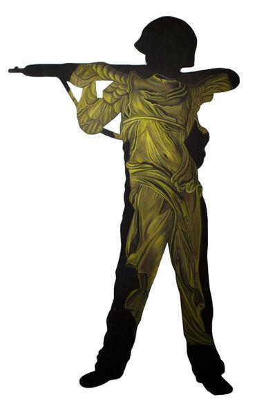 Grace Graupe-Pillard, 'Boy With A Gun - Victory ', 1993