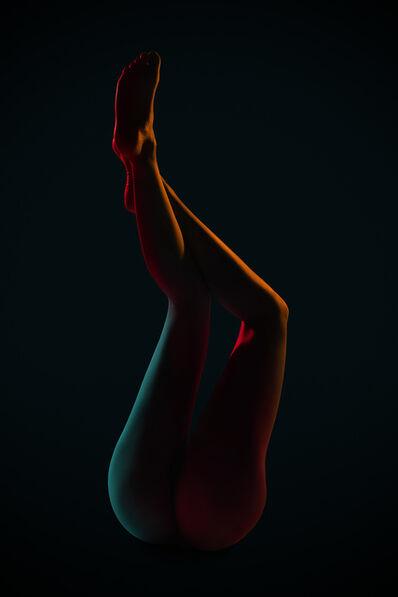 Carli Hermès, 'Curves 8'