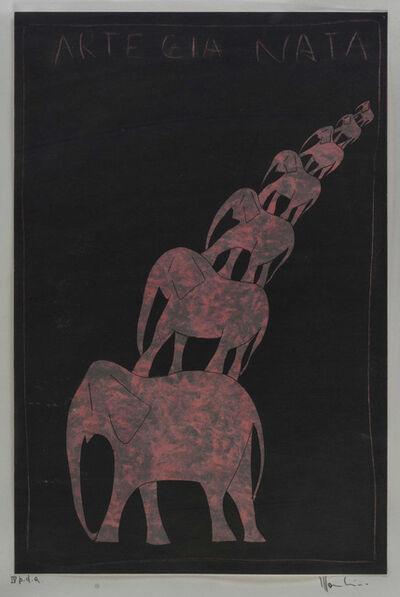 Aldo Mondino, 'Untitled'