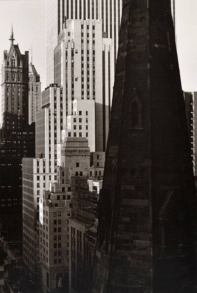 Beaumont Newhall, 'Fifth Avenue, New York, No. 2', 1980