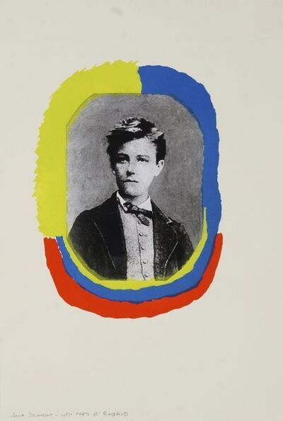 Sonia Delaunay, 'Portrait of Rimbaud, from Les Illuminations', 1973