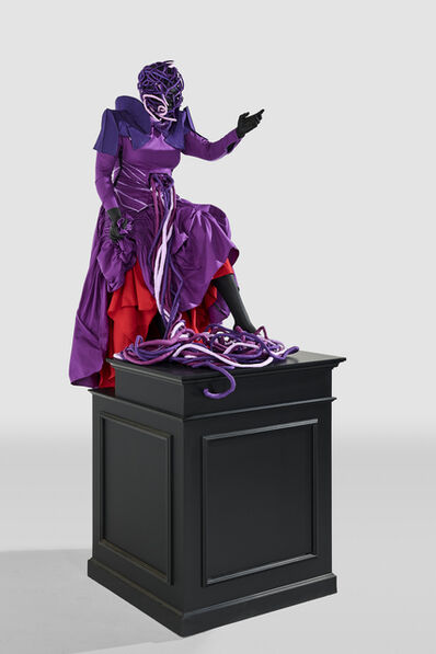 Mary Sibande, 'Ascension of the Purple Figure', 2016