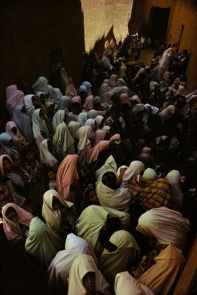 Harry Gruyaert, 'Women praying on the shrine of a marabout, Tineghir, Morocco', 1986