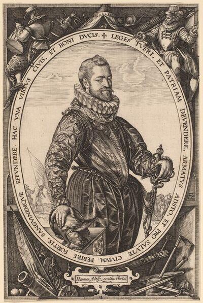 Hendrik Goltzius, 'Jacques de la Faille', probably 1589