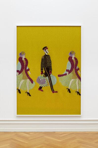 Tobias Kaspar, 'Porter (yellow)', 2018