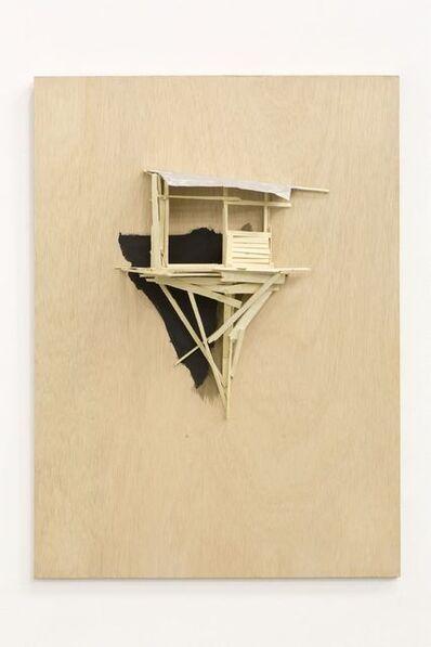 Tadashi Kawamata, 'Tree hut plan 39', 2016