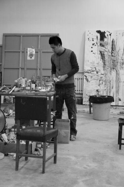 Qiu Xiaofei, 'Artist Portrait'