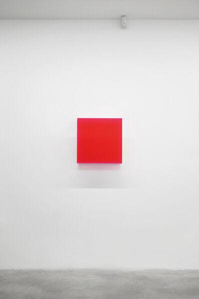 Regine Schumann, 'Colormirror Karlsruhe red', 2011
