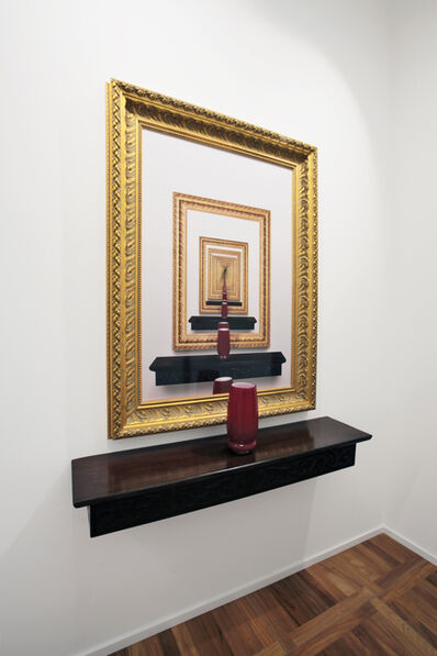 Leandro Erlich, 'Cadres dores', 2008