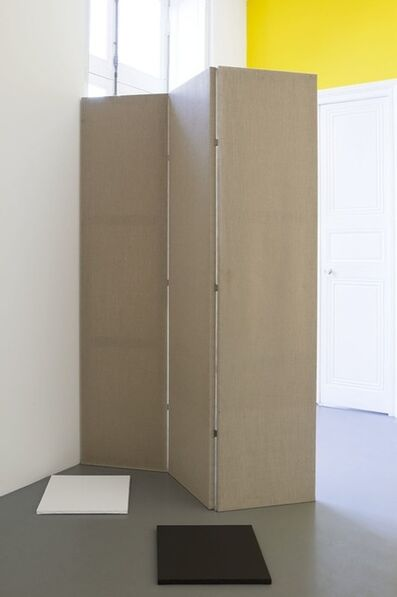 Claude Rutault, 'de-finition/method mobile double-canvases, 3 pairs', 1986