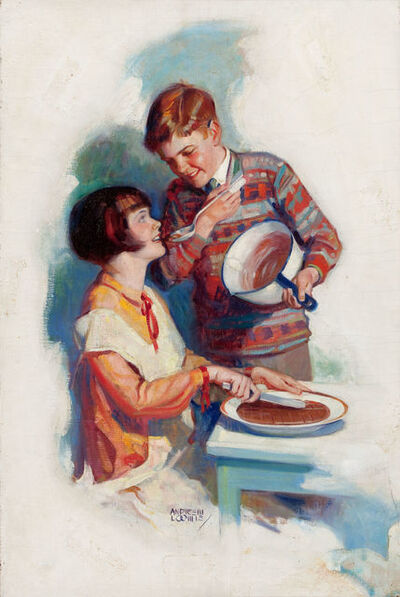 Andrew Loomis, 'In The Making, Pet Milk Company Advertisement', 1926