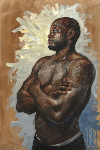 Peter Lupkin, 'Portrait of a Fighter', 2019