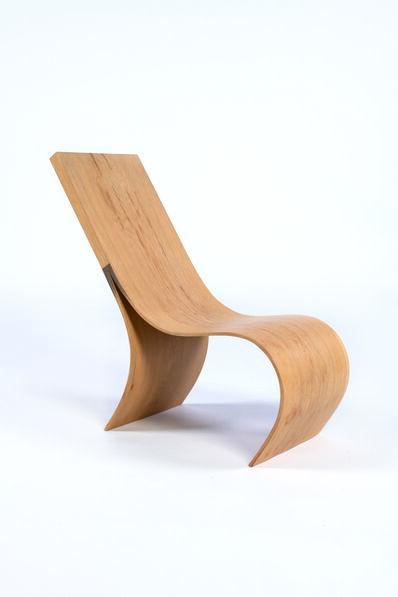 Kaspar Hamacher, 'Oak lounge chair', vers 2010