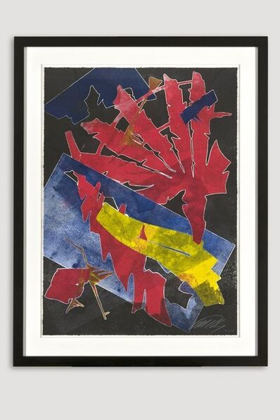 Albert Paley, 'Burning Bones Texas Monoprint 4', 2012