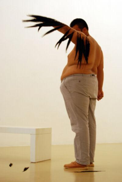 Naufus Ramírez-Figueroa, 'Feather Piece', 2013