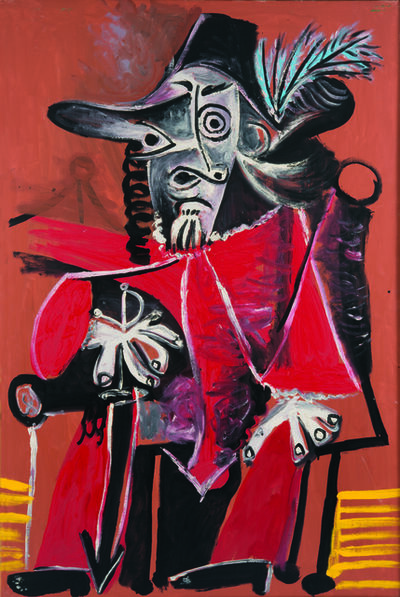 Pablo Picasso, 'Sitting Musketeer with Sword', 1969