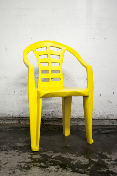 Cameron Platter, 'Yellow chair I', 2017