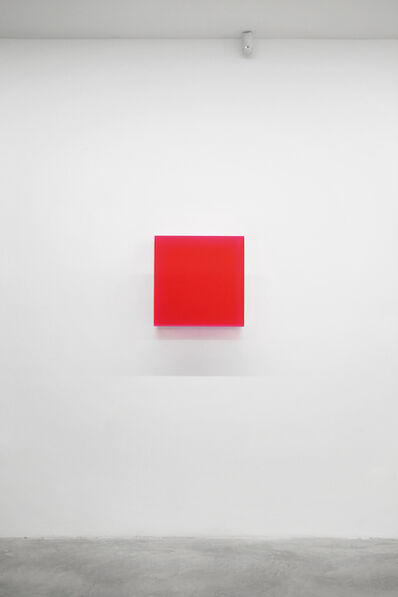 Regine Schumann, 'Colormirror Karlsruhe red', 2011
