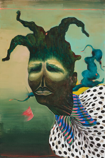 Simphiwe Ndzube, 'Portrait I: The Spirit People', 2018