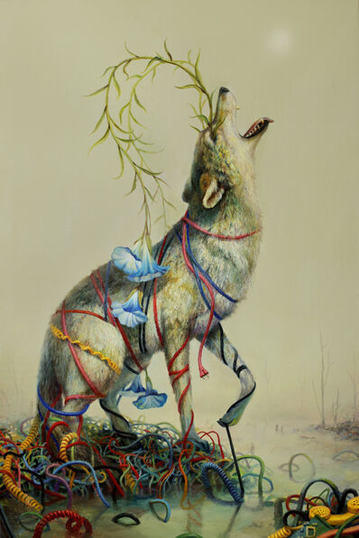 Martin Wittfooth, 'Tangle', 2016