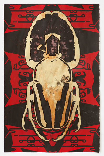 Kendell Geers, 'Wittgensteins Beetle 1356', 2018