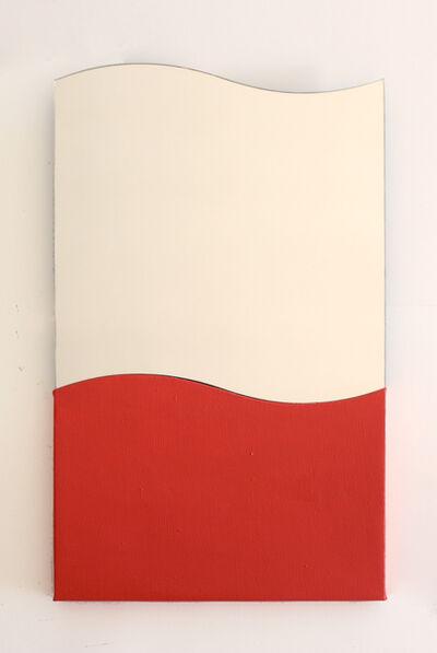 Bernat Daviu, 'Krabb painting (vertical red)', 2019