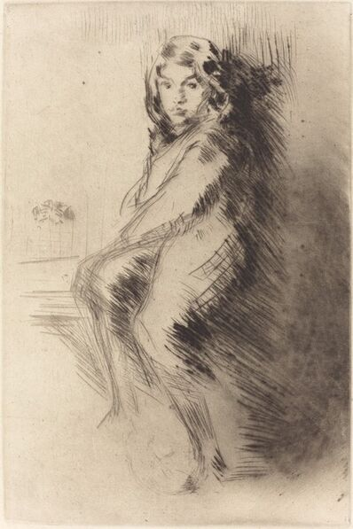 James Abbott McNeill Whistler, 'The Boy', ca. 1873/1875