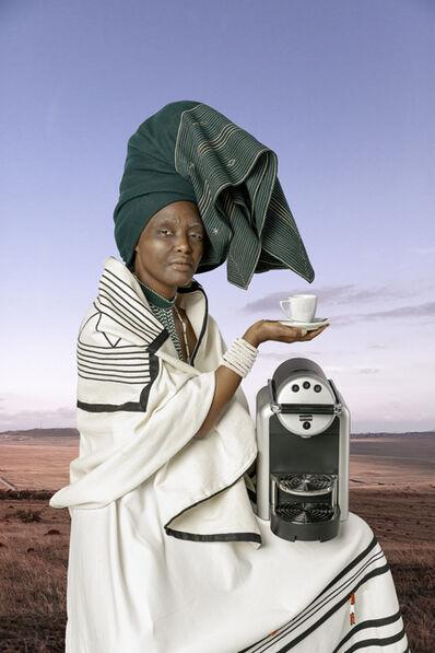 Tony Gum, 'Xhosa woman - IXhegokazi', 2017