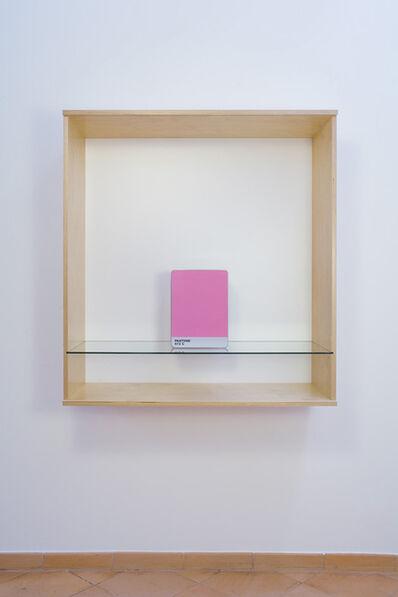 Haim Steinbach, 'United (Pantone 672 C)', 2016