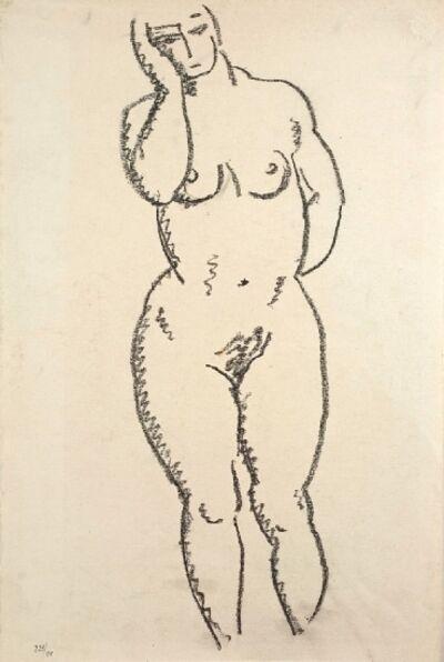 Alexej von Jawlensky, 'Stehender weiblicher Akt', ca. 1920