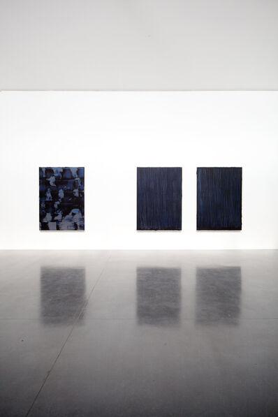 Peter Krauskopf, 'black paintings', 2017