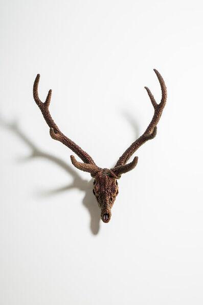 Kohei Nawa, 'Villus-Deer Skull(Mica)', 2016