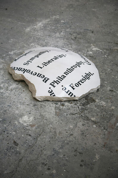 John Isaacs, 'Everything given nothing lost', 2010