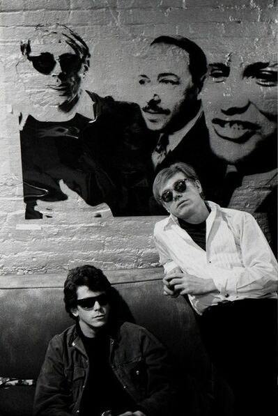 Stephen Shore, 'Lou Reed, Andy Warhol', 1965-1967
