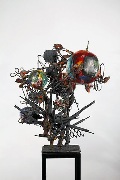 Raymon Elozua, 'H: IMF-10: & 10 Blur S&S', sculpture: 2016; photo: 2010